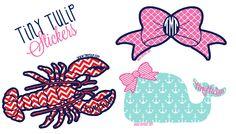 Free Set of Tiny Tulip Stickers - Freebie Giant - Get Free Stuff Online Free Preppy Stickers, Free Stickers, Car Stickers, Brand Stickers, Preppy College, Preppy Car, Monogram Stickers, Monogram Initials, Free Starbucks Drink