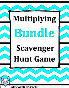 My students have never been so enthusiastic about multiplying! These are great for a multiplying unit. The format allows you to work one-on-one with struggling students as the rest of the class is engaged with the scavenger hunt. The activity runs itself.
