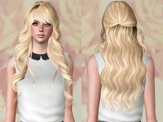 Skysims 255 hairstyle retextured by Chantel Sims for Sims 3 - Sims Hairs - http://simshairs.com/skysims-255-hairstyle-retextured-by-chantel-sims/