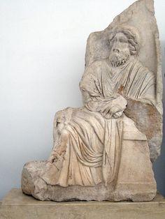 Sebasteion, seated Zeus. Aphrodisias Museum.