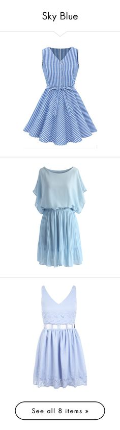 """Sky Blue"" by isaya84 ❤ liked on Polyvore"