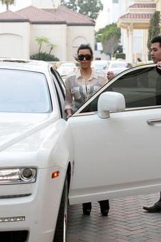 Kim Kardashian's Rolls Royce Ghost