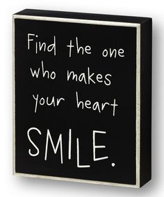 Take a look at the Black 'Find the One' Wall Sign on #zulily today!