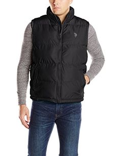 U.S. Polo Assn. Men's Basic Puffer Vest, Black, Small U.S. Polo Assn. http://www.amazon.com/dp/B00K5LL9FE/ref=cm_sw_r_pi_dp_eE-qub1CG069V