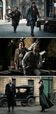 New photos from Fantastic Beasts - The Crimes of Grindelwald