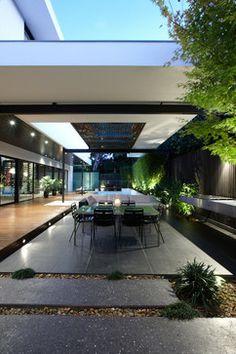 Balaclava Road Project - C.O.S Design - contemporary - patio - melbourne - C.O.S Design