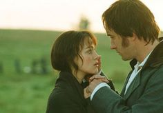"""Pride and Prejudice...""""you have bewitched me body and soul and I love...I love...I love you"""" - Mr. Darcy"""