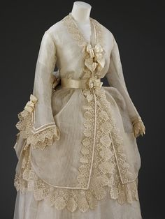 Wedding dress, 1874  From the V