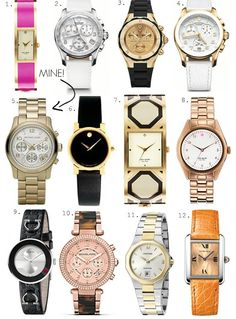 so many watches so little time
