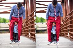 Like Father Like Son: Styling Tips from a Toddler and his Dad. | How Does She...