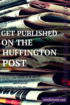 Step-by-step instructions on how to get #published on The Huffington Post