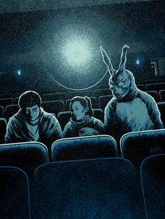 """Who doesn't ❤️ #donniedarko? """"Wake up"""" commission for Bottleneck Gallery by Coke Navarro"""