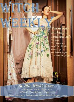 Witch Weekly | Pansy's Climb to the top | Pansies, Witch, Harry Potter, Bloom, Formal Dresses, Stylish, How To Make, Shopping, Tops