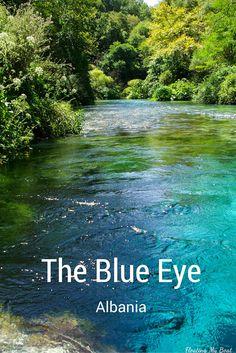 Syri i Kaltër (Blue Eye, Γαλάζιο Μάτι) in Saranda, Qarku i Vlorës #Albania #solotravel #travel
