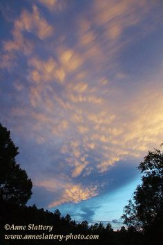 Mackerel sky at sunset over the Chama Wilderness, New Mexico by The Bright Edge - Photography by Anne Slattery - IMG_E_63741a | Flickr - Photo Sharing!