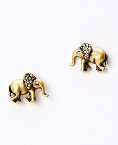 "Jeweled elephant stud earrings. Love elephants? Read ""Ivory Wild"" a Novel. http://www.amazon.com/Ivory-Wild-Trilogy-Book-ebook/dp/B00MAU19KI/ref=sr_1_1?s=digital-text&ie=UTF8&qid=1409500477&sr=1-1&keywords=Ivory+Wild"