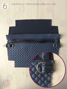 aro Diy Backpack, Diy Purse, Design Blog, Bag Patterns To Sew, Louis Vuitton Damier, Sewing Projects, Tote Bag, Purses, Leather