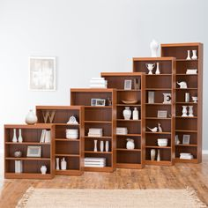 Remmington Heavy Duty Bookcase - Oak - Lighten up the load on your desk or coffee table with the Finley Home Remmington Heavy Duty Bookcase - Oak - it's the perfect place to stash boo...