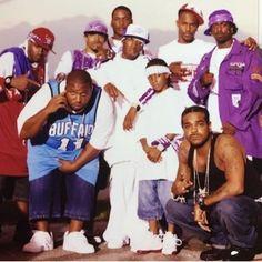 Purple city byrd gang lol i feel so old. Mode Hip Hop, 90s Hip Hop, Hip Hop Rap, Music Pics, Rap Music, Purple City, Hip Hop World, Early 2000s Fashion, Rap God