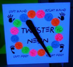 Blacklight UV Neon Twister