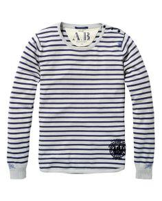 Yarn-Dyed Stripe Pullover