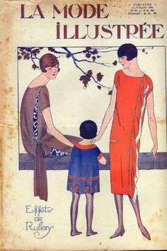 La Mode ILLUSTREE 28 July 12 1925