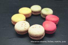 Macarons colorés aux saveurs de l'Asie !