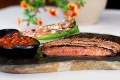 Cola-Marinated Flank Steak