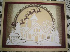 Handmade Christmas Card Xmas Card Holiday card by CardsbyEileen