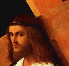 GIORGIONE : LE CHRIST PORTANT SA CROIX