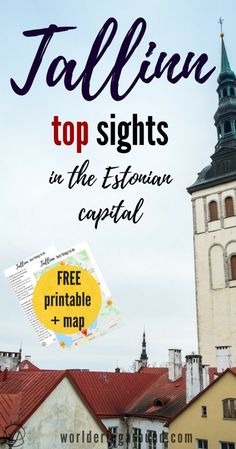 Best things to do in Tallinn, Estonia, with a map and printable list! Explore Tallinn Old Town, check must see places in Tallinn, Tallinn in winter, Tallinn travel tips | Worldering around, #Tallinn #Estonia #Baltics #Europe
