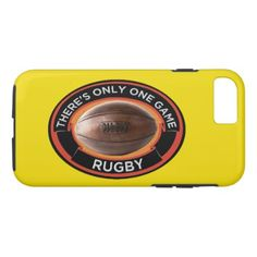 #Rugby iPhone 7 Tough Phone Case - #giftsforhim #gift #him
