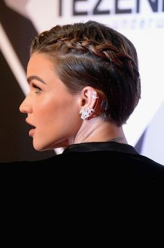 Braids Are Getting Way (Way!) Edgier This Fall—Here's Proof - ruby-rose-braids-2