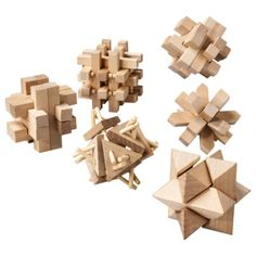 Totes Wooden Puzzles