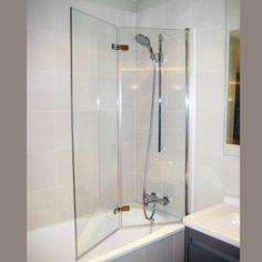 bi fold shower screen bath - Google Search