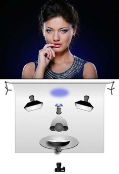 Beauty Portrait Lighting Set-Up Would you like to make an extra $2,500 to $50,000 PER MONTH by handing out a phone number? Visit http://wealthwithstanley.com/ for more details.