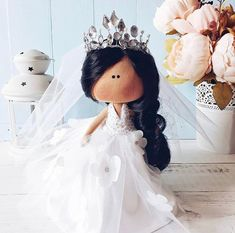 Bride and Groom Custom Wedding Dolls. Bridal Shower Gifts For Bride, Wedding Gifts For Bride, Bride Gifts, Wedding Doll, Bride Dolls, Diy Holiday Gifts, Newlywed Gifts, Fabric Dolls, Rag Dolls