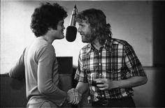 Micky Dolenz and Harry Nilsson, 1972