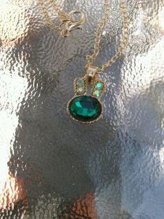 BETSEY JOHNSON CRYSTAL RABBIT NECKLACE - http://designerjewelrygalleria.com/betsey-johnson/betsey-johnson-crystal-rabbit-necklace/