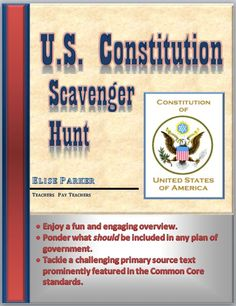 Get ready for Constitution Day with this easy to implement lesson plan complete with all the materials you need to communicate the broad range of topics covered in our nation's written constitution. Social Studies Notebook, 4th Grade Social Studies, Social Studies Classroom, Social Studies Resources, Teaching Social Studies, Teaching History, History Education, History Classroom, Teaching Resources
