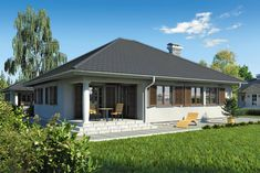 Proiect casa parter - Smart Home Concept Smart Home, House Plans, Outdoor Structures, Outdoor Decor, Home Decor, Houses, Concept, Cots, Ideal Home