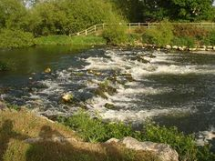 Stour Valley Path - The rapids about two miles upstream of Iford Bridge.  http://www.stourvalleyway.co.uk/stour-valley-way-introduction.php