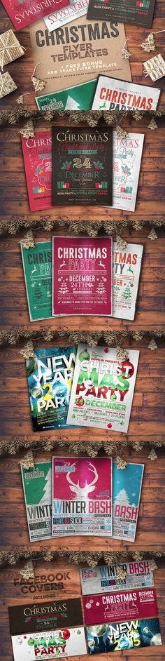 Holiday Flyer Template christmas fb timeline models, timeline and - holiday party flyer template