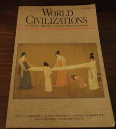 World Civilizations Vol I Sources, Images, and Interpretations Vintage Book Copyright 1994/Vintage Book by CoolCoolVintage, $4.00