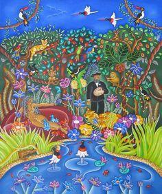 Le douanier Rousseau en Amazonie