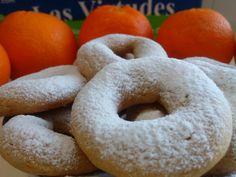 Roscos de naranja - Recetas caseras y sencillas
