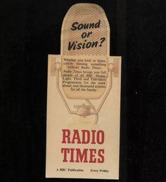 Radio Times The Listener BBC Bookmark