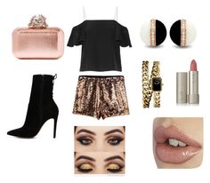 """""""#golden year"""" by eliza147 ❤ liked on Polyvore featuring Fendi, ALDO, Jimmy Choo, Chanel and Ilia"""