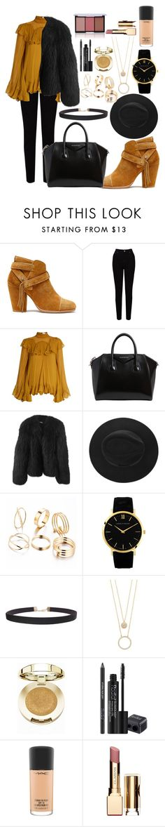 """""""Untitled #221"""" by fifi82101 ❤ liked on Polyvore featuring rag & bone, EAST, Chloé, Givenchy, Balenciaga, Humble Chic, Kate Spade, Milani, Rodial and MAC Cosmetics"""