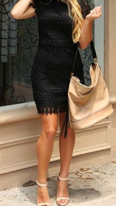 Take Care Dress #LBD